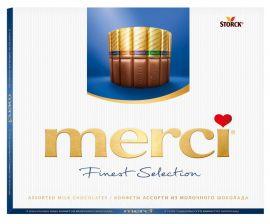 Конфеты MERCI Молочные 250г