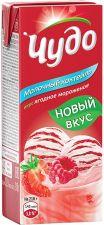 Коктейль молочный ЧУДО Ягоды-Мороженое 2% без змж 200г
