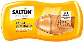 Губка д/обуви SALTON Волна д/гладкой кожи с норковым маслом 1шт