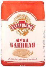 Мука АЛАДУШКИН блинная из муки пшеничной 1 сорт 1000г
