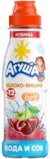 Д/п напиток АГУША сокосодержащий Яблоко-Вишня 300мл