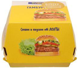 Бургер с говядиной и горчицей 205г