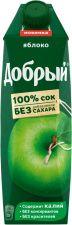 Сок ДОБРЫЙ Яблочный т/пак. 1L