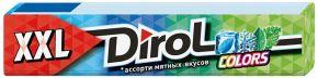 Жев. резинка DIROL COLORS XXL ассорти мятных вкусов б/сахара 19г
