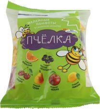 Конфеты ЛЕНТА желейные неглазированные Пчелка микс 250г