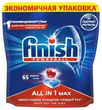 Средство д/ПММ FINISH All in 1 табл 65шт
