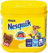 Напиток какао NESQUIK быстрорастворимый пласт/б. 250г