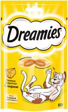 Корм д/кошек DREAMIES С сыром 60г