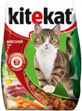 Корм д/кошек KITEKAT Мясной пир 350г