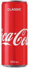 Напиток безалкогольный COCA-COLA сильногаз. ж/б 0.33L