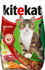 Корм д/кошек KITEKAT Мясной пир 1,9кг