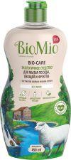 Ж/средство д/мытья посуды, овощей и фруктов BIOMIO б/запаха Bio-Care 450мл