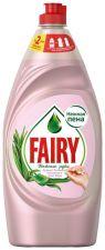 Средство д/мытья посуды FAIRY Нежные руки Розовый Жасмин и Алоэ Вера 900мл