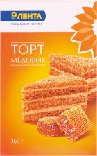 Торт ЛЕНТА Медовик 360г