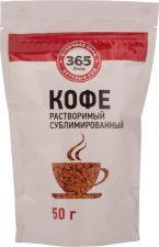 Кофе растворимый 365 ДНЕЙ сублимированный м/у 50г
