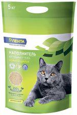 Наполнитель ЛЕНТА д/кошачьего туалета комкующийся 5кг