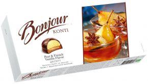 Десерт КОНТИ со вкусом Груша с французской ванилью 232г