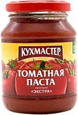 Томатная паста КУХМАСТЕР Экстра ГОСТ ст/б 480г