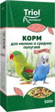 Корм д/попугаев TRIOL Экстра д/мелк.и сред. 500г