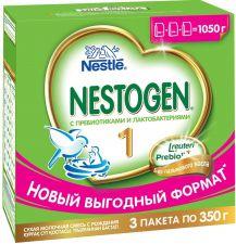 Д/п смесь NESTOGEN 1 сухая молочная с рождения 1050г