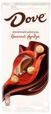Шоколад DOVE Молочный цельн. фундук 90г