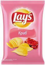 Чипсы LAY'S со вкусом краба 150г