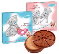 Шоколад фигурный ME TO YOU Молочный с имбирным печеньем 45г