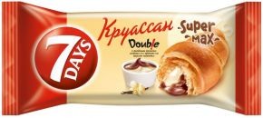 Круассан 7DAYS c двойным кремом какао-ваниль 110г