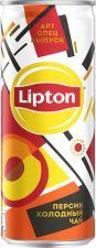 Напиток безалкогольный LIPTON Холодный чай Персик негаз ж/б 0.25L