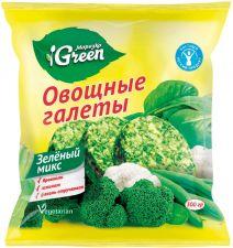 Овощные галеты МОРОЗКО GREEN Зеленый микс 300г