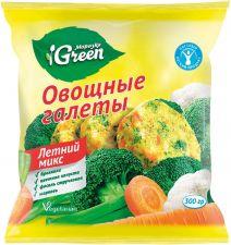 Овощные галеты МОРОЗКО GREEN Летний микс 300г