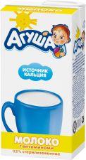 Молоко АГУША стерил. с витам. А и С 3,2% без змж 500г