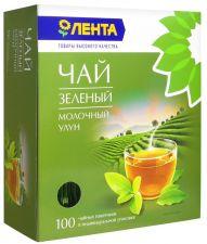 Чай зеленый ЛЕНТА Молочный Улун к/уп 100пак
