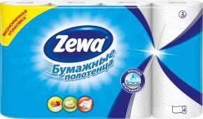 Бумажные полотенца ZEWA Кухонные 4шт