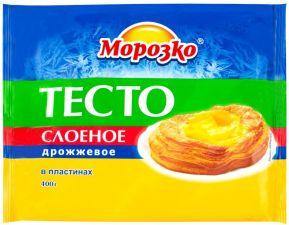 Тесто МОРОЗКО слоеное дрожжевое 400г