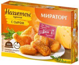 Наггетсы МИРАТОРГ куриные с сыром 300г