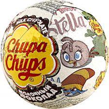 Конфета CHUPA CHUPS шоколадный шар из молочного шоколада с игрушкой-сюрпризом 20г