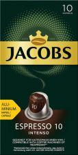 Кофе молотый в капсулах JACOBS натур.жареный Espresso 10 Intenso к/уп 52г