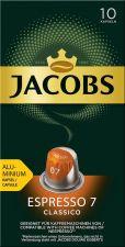 Кофе молотый в капсулах JACOBS натур.жареный Espresso 7 Classico к/уп 52г