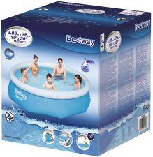 Бассейн BESTWAY Fast Set Pool надувной 305x76см,3638л