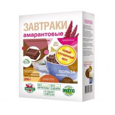 Завтраки ДИ ЭНД ДИ Амарантовые с темным шоколадом 250г