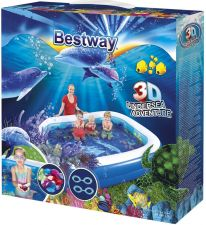 Бассейн BESTWAY 3D Advent надувной,3D рис.Поиски сокровищ 262x175x51см 778л