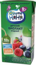 Продукт кисломолочный ФРУТОНЯНЯ Биолакт с лесными ягодами 2,9% без змж 200г