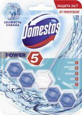 Блок д/унитаза DOMESTOS Power 5 свежесть океана