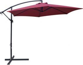 Зонт GIARDINO CLUB Садовый н/подставке 1х1м,д.3м,выс.2,5м сталь,полиэст.,вишнев