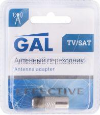 Переходник DORI/GAL F гнездо TV штекер 2330