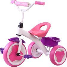 Велосипед дет. 3-колесный 3-6 лет цв.розовый