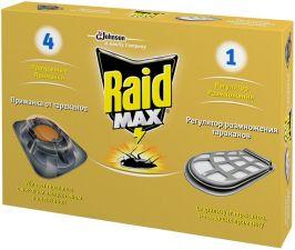 Средство RAID Приманка с регулятором размножения п/тараканов 4шт+1