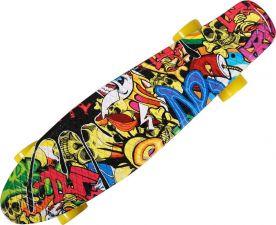 Скейтборд ACTIWELL 56x15см с принтом