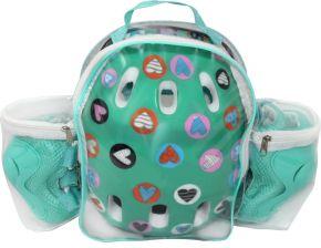 Набор защиты ACTIWELL Детский в рюкзаке д/девочек